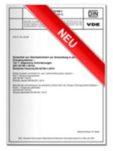 DIN VDE V 0825-1 für drahtlose Personen-Notsignal-Anlagen