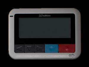 Multitone EkoCare Schwesternruf Messenger - mobiler Notsignal-Sender Display-Empfänger für Pflegekräfte und Mitarbeiter