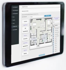 Multitone EkoMS Mapping ermöglicht die Erstellung einer klaren bildlichen Darstellung Ihrer Räumlichkeiten, auf der Live- Alarminformationen angezeigt werden. Dies hilft Ihrem Personal dabei, den Standort und die Prioritätsstufe eines Alarms auf einen Blick zu erkennen, wodurch die Reaktionszeiten verkürzt werden.