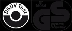 """Nach Prüfungen hat die DGUV (Deutsche Gesetzliche Unfallversicherung) das Multitone ATEX-PNG gemäß DIN VDE V 0825-1 (""""Personen-Not¬signal-Anlagen"""") zertifiziert und dem Produkt das GS-Zeichen für """"geprüfte Sicherheit"""" zuerkannt."""